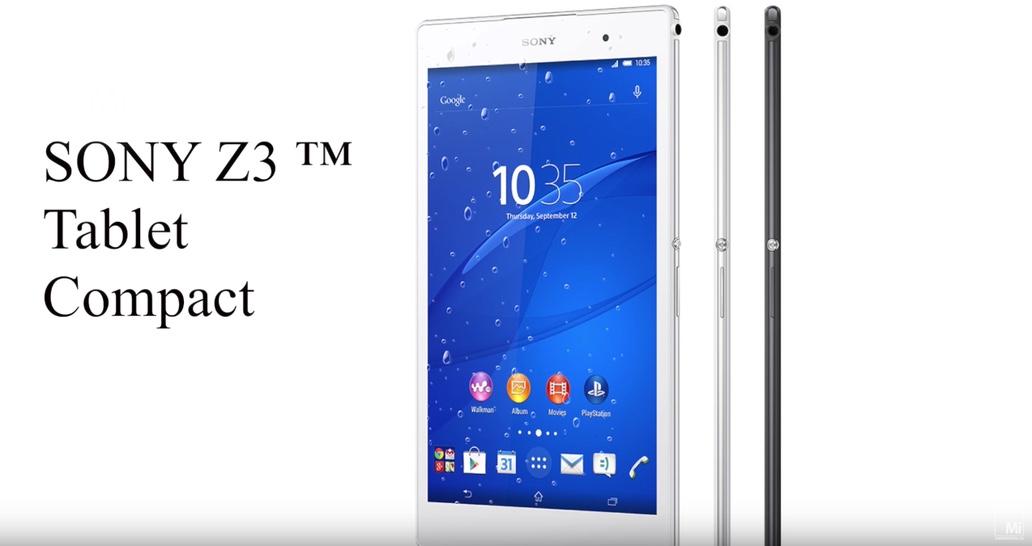 Sony Z3 tablet