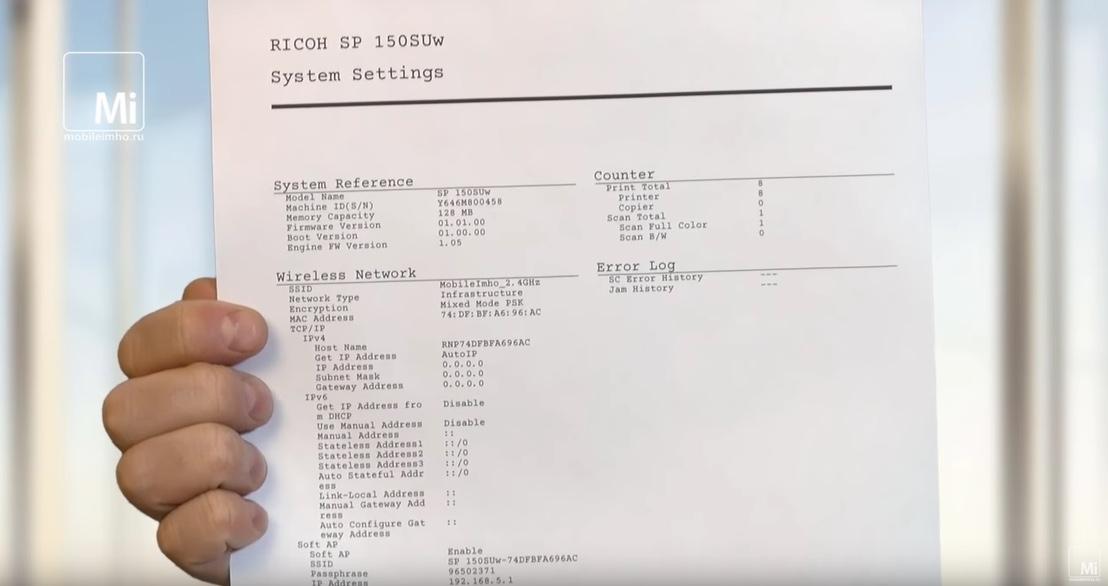 Ricoh SP150SUW