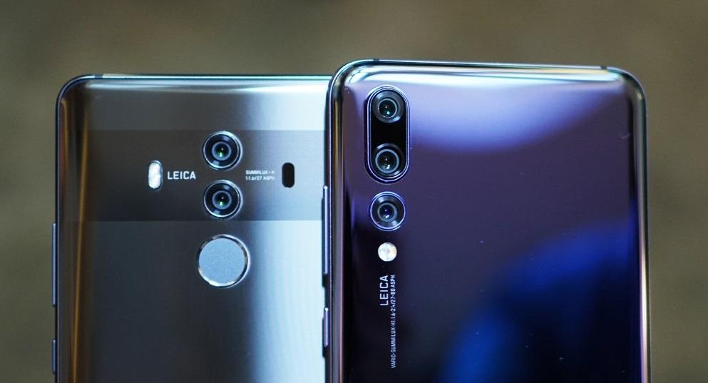 Huawei P20 или Huawei Mate 10 Pro - сравнение телефонов