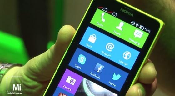 Nokia X Nokia XL