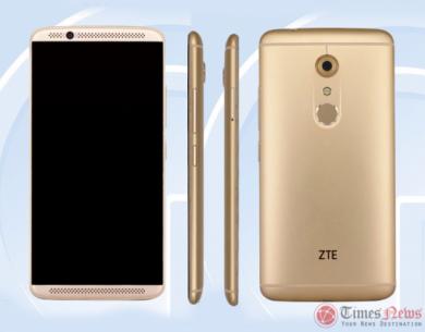ZTE A2017 (ZTE Axon 2): подтверждение начинки и фото в TENAA