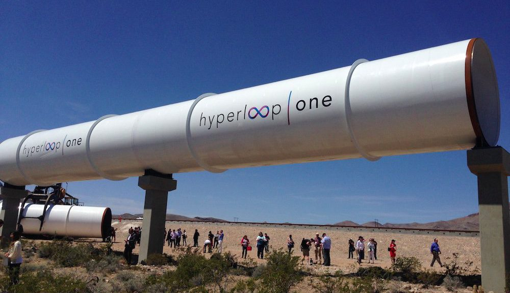 hyperloop one system